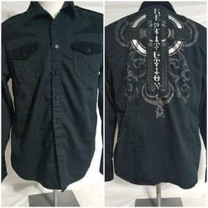 Mens Guess button up